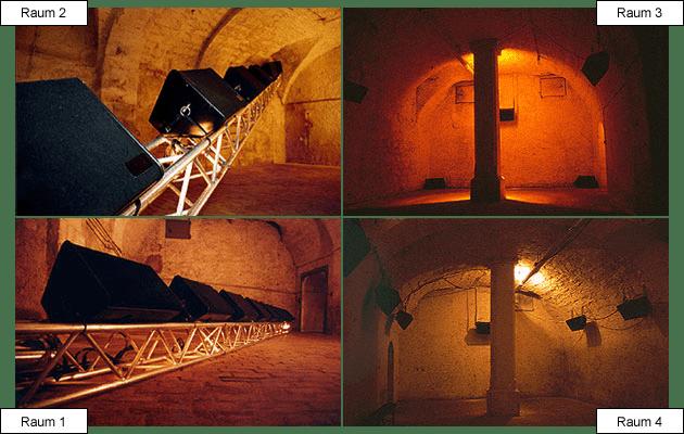 Fotos: Donaueschinger Musiktage - Internationale Tage für Zeitgenössische Musik 1999 Gewölbekeller der Fürstlich Fürstenbergischen Hofbibliothek Donaueschingen